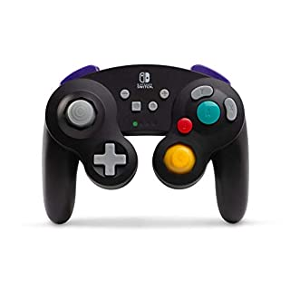 PowerA Wireless GameCube Style Controller for Nintendo Switch Black