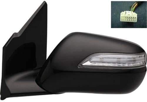 Fits Acura MDX 10-13 Passengers Side View Power Mirror Heated Memory Signal