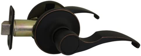 Designers Impressions Sedona Oil Rubbed Bronze Combo Entry Lever and Deadbolt