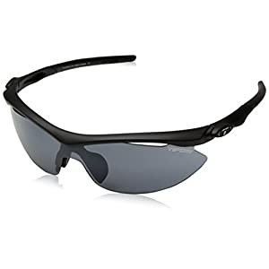 Tifosi Slip T-V145 Shield Sunglasses,Race Silver On Black Frame/Light Night Fototec Lens,One Size