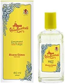 Alvarez Gomez Agua De Colonia Concentrada Concentrated Eau De Cologne Spray for Men, 2.7 Ounce
