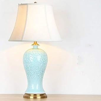 Lámpara de mesa Decoración Whchrh Sala de estar Estudio Tabla ...