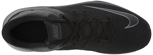 Nike, Sneaker uomo Schwarz (Black/Metallic Dark Grey/Anthracite)