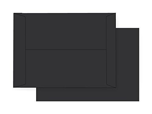 9 x 12 Catalog Envelope - 70# Eclipse Black (9 x 12) - Astrobright Jumbo Series (Open End) (Pkg of 100)