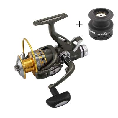Used, Dual Brake Feeder Spinning Reel Plus Extra Spool Carp for sale  Delivered anywhere in USA