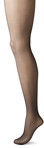 CK Women's Matte Ultra Sheer Pantyhose with Control Top, Darkest Navy, Size C (Pantyhose Slim Top Control)