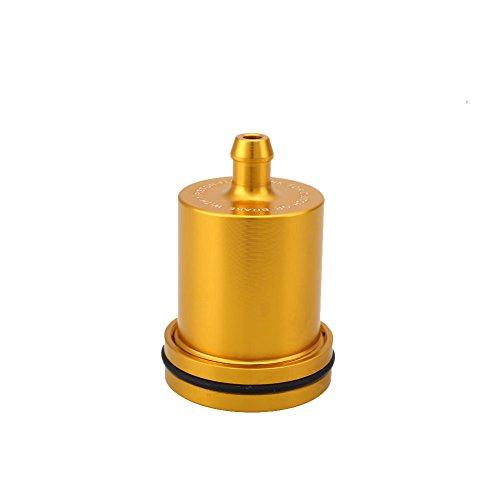 Sedeta® Gold Motorcycle CNC Brake Clutch Master Cylinder Fluid Reservoir Oil Cup For Honda: