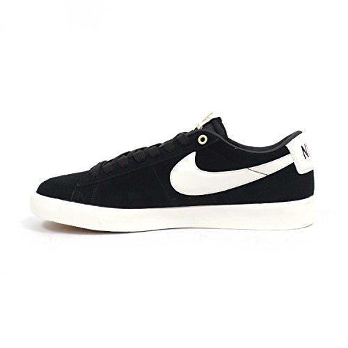 Nike Sb Blazer Low Gt (nero / Vela) Scarpe Da Skate Da Uomo Nere