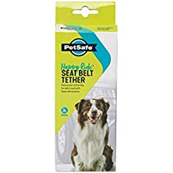 PetSafe Happy Ride Seat Belt Tether, Dog Seat Belt Strap