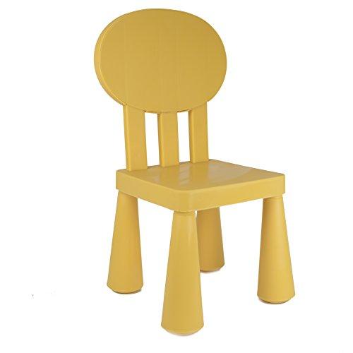 KAO Mart Children's Chair, Yellow, Indoor/outdoor by KAO Mart