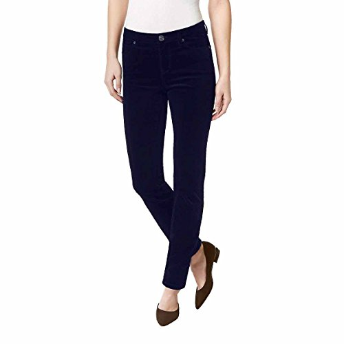 Buffalo David Bitton Womens Brushed Corduroy Skinny Jean (10/30, Dark Blue)