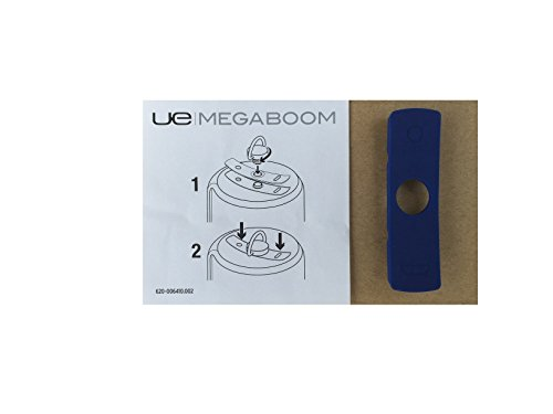 Original Blue Waterproof Rubber Plug (Cover) for UE MEGABOOM Wireless Speaker Electric Blue (Blue Rubber Cover)