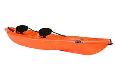 Pelican Apex 130T Kayak, Orange