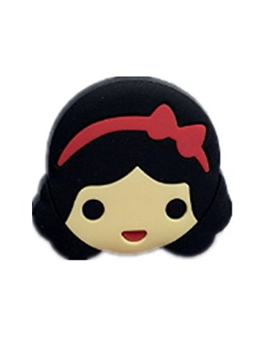 ebf64d85 Buy TBOP PIN Princess Snow White PVC Soft Cartoon Brooch Badge Safety Pin  3cm in Black Color for Unisex Online at Low Prices in India   Amazon  Jewellery ...
