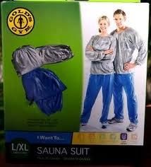 Gym costume Sauna de l'or, L / XL