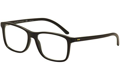 Polo PH2151 Eyeglass Frames 5001-56 - Shiny Black - 17 Glasses 56