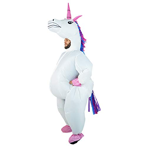 Bodysocks Adult Inflatable Unicorn Full Body Fancy