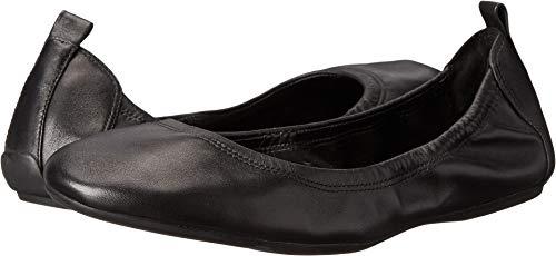Cole Haan Women's Jenni II Ballet Flat, Black Leather, 8 B US