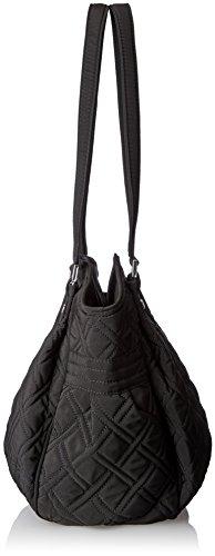 Classic Black Bag Shoulder Bradley Glenna Microfiber Vera 1BvxHfn8