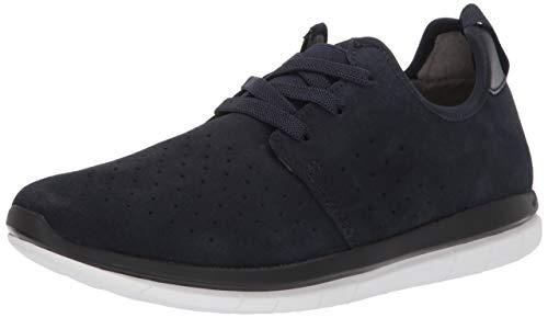 Kenneth Cole REACTION Men's ReadyFlex Sport Sneaker B With A Flexible Outsole Shoe, Navy, 9.5 M US