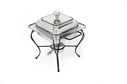 Star Home 2-Quart Square Stainless Steel Chafing Dish 2 Quart Chafing Dish