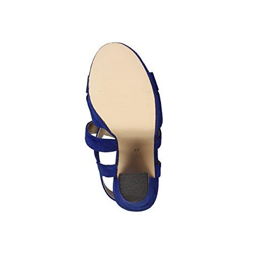 V 1969 - DESIREE_ROYAL Donna Sandali Della Caviglia Cinghia Tacco: 14 cm, Altopiano 3. 5 cm