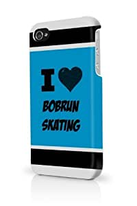 Bobrun Skating Blue iPhone 5/5S Case - For iPhone 5/5S - Designer PC Case Verizon AT&T Sprint