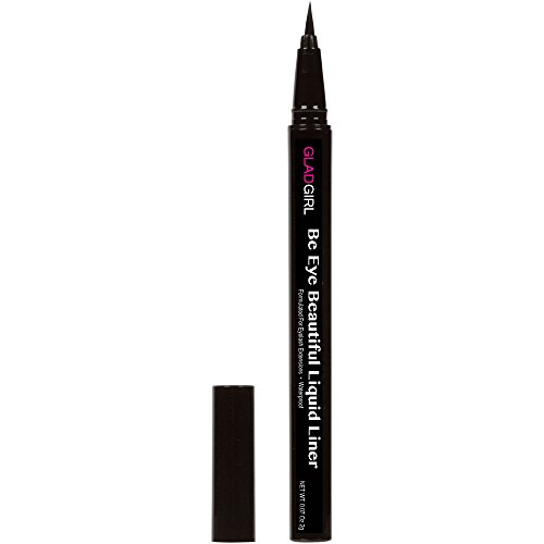 GladGirl Liquid Liner - Fine Brush Tip (Ebony)