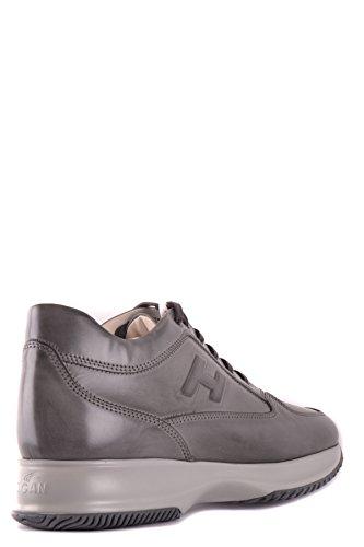 Hogan Sneakers Uomo MCBI148388O Pelle Grigio