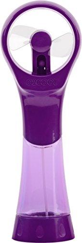 (O2 COOL Elite Misting Fan, Purple)