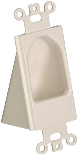 Datacomm 45-0004-WH Reverse Nose Decor Insert, White