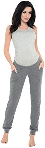 Purpless Maternity Pregnancy Joggers Under Bump Belly Trousers Pants Women 1314