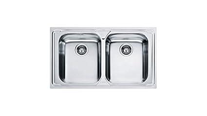Lavello Franke Logica Line   LLX 620 L Stainless Steel Sinks Satinato