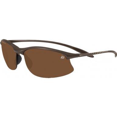 Serengeti Maestrale 24 Hour Le Mans Safety Glasses, Satin Dark - Serengeti Maestrale Sunglasses