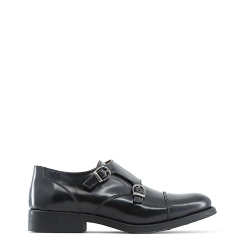 Italia Zapatos Shoes Made Marrón In Monkstrap Mujer 7w5q514Tx