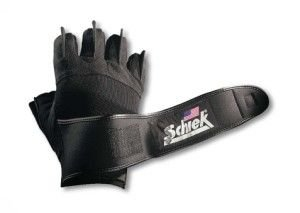 "Platinum Gel Lifting Gloves with Wrist Wrap in Black Size: XL (10"" - 11"")"