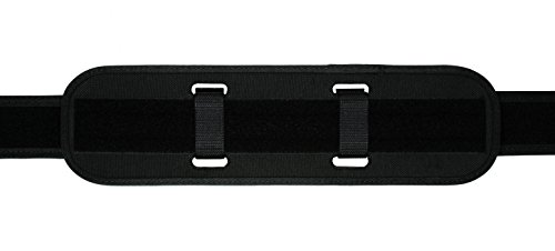 TUFF Products Double Layered Tri-Laminate Back Support, 2 Extended Black Nylon Keepers, 7973-NYA (Laminate Belt)
