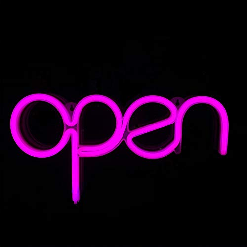 Open Sign Pink USB