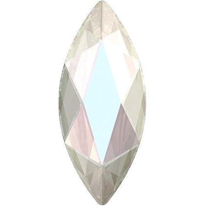 2c6eaeb186 Amazon.com: 2201 Swarovski Flatback Crystals Hotfix Marquise ...