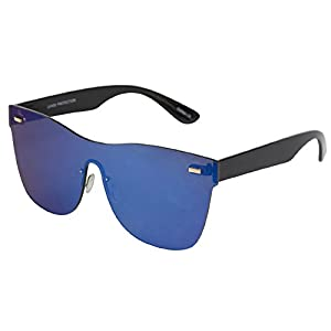 NEFF Daily All Lens Shades Men's Sunglasses with Cloth Pouch - 100% UV Protection Sunglasses for Men - Sunglasses for Cycling, Running and Driving