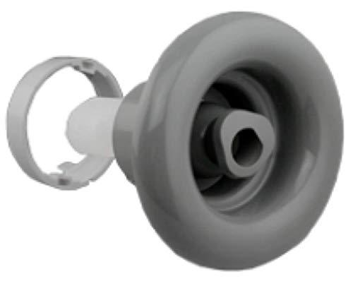 "Caldera Hot Tub Retrofit 5 "" Jet Assembly Gray Large Smooth VSR Spa How To Video"