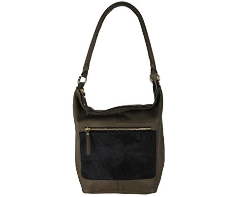Latico Women's London 6266,Black/Olive Leather,US