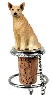 - Australian Cattle Dog Red Wine Bottle Stopper - DTB87A