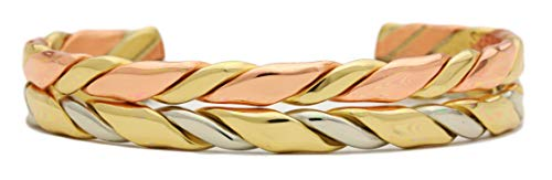 BillyTheTree Jewelry Horseman - Sergio Lub Copper Cuff Bracelet - Handmade in USA! - - Cuff Sergio Lub