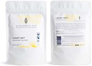 Autoimmune Tea Leaky Gut Support Tea: Autoimmune Protocol blend for Autoimmune Diet; autoimmune paleo and AIP digestive herbal tea