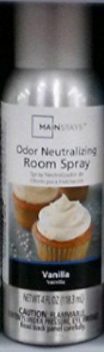 Mainstays Odor Neutralizing Room Spray, Vanilla, 4 fl oz