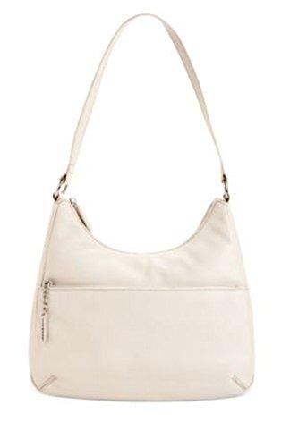 Giani Bernini Nappa Leather Hobo Bag Satchel Handbag (Light Beige)