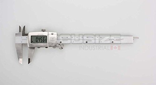 AccusizeTools - IP67, 6'' Water/Oil Proof Electronic Digital Caliper, Metal Cover, Metric/Inch, #1199-W616 by Accusize Industrial Tools (Image #1)