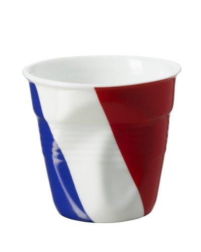 Revol Froisses 643218 Espresso Tumbler, French Flag