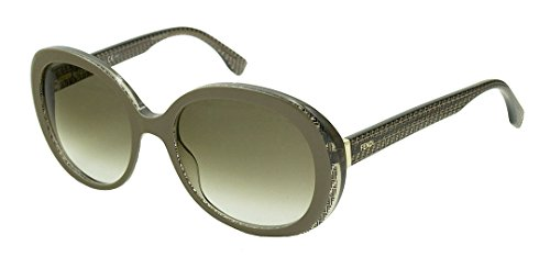 Fendi Women's FF0001 Sunglasses, Mud Black